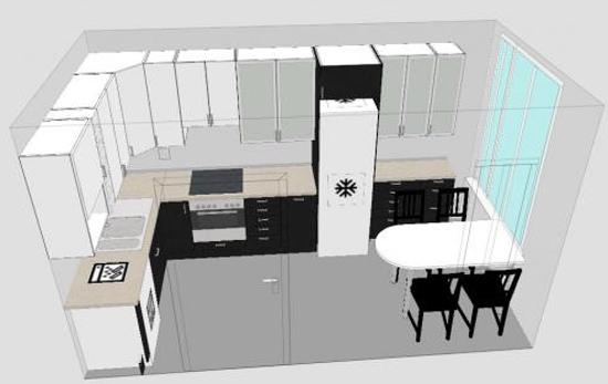 Ikea конструктор кухни