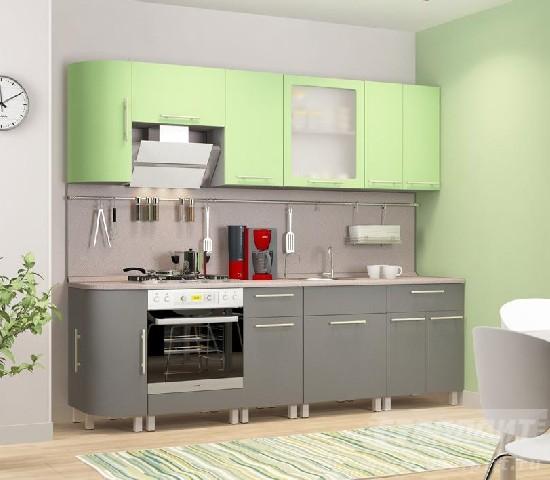 Кухня столплит в интерьере