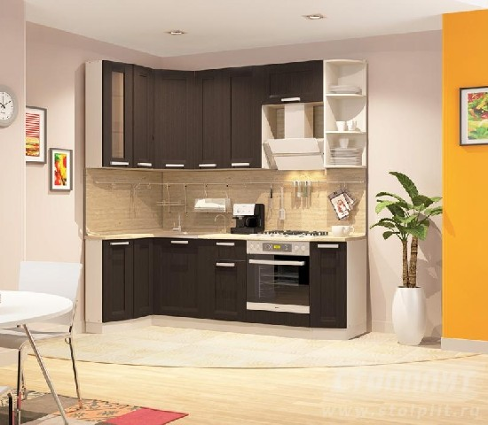 Кухни столплит фото в интерьере