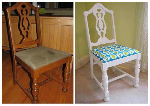 декорируем мебель тканью