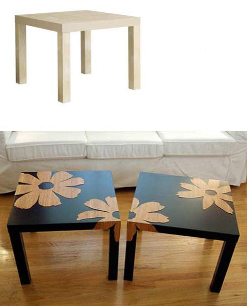 своими руками декорируем мебель
