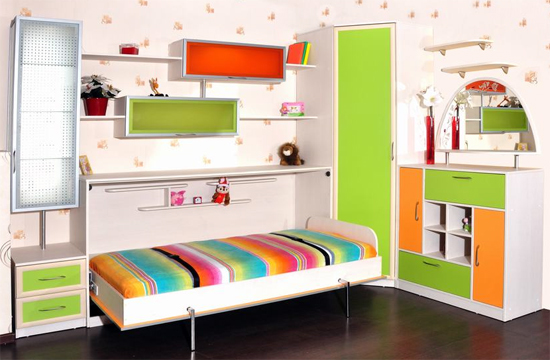 Подъемные кровати-трансформеры для детей
