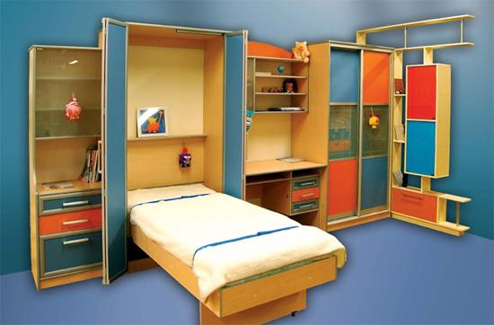Подъемные кровати-трансформеры для детей.