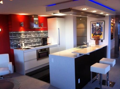проект кухни студии