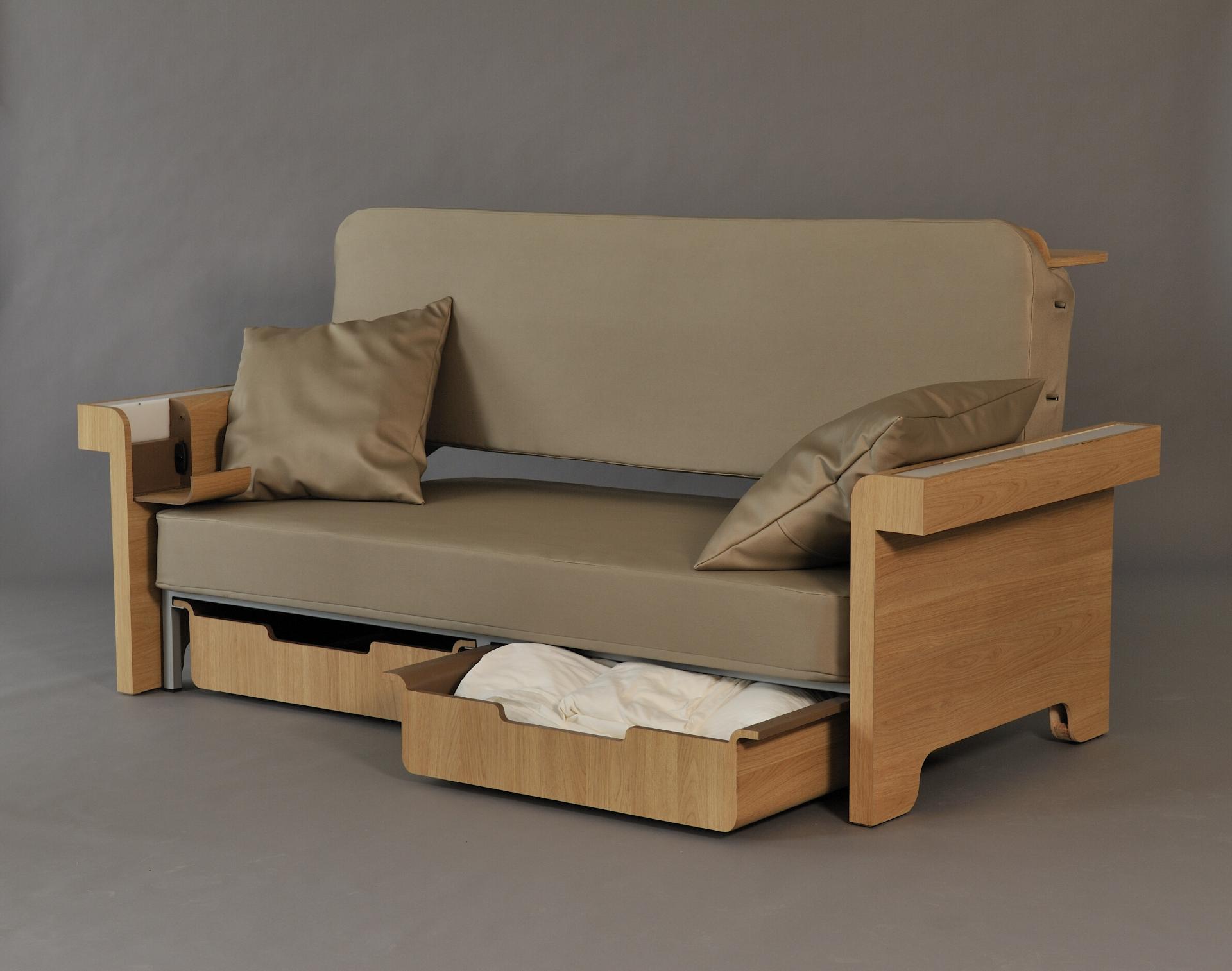 Как из кровати сделать диван своими руками видео