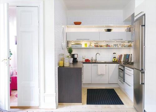 на фото малогабаритные кухни