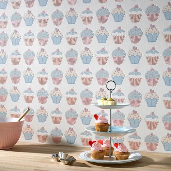 фото дизайна обои для кухни