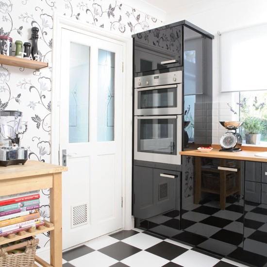 фото обои для кухни с цветами