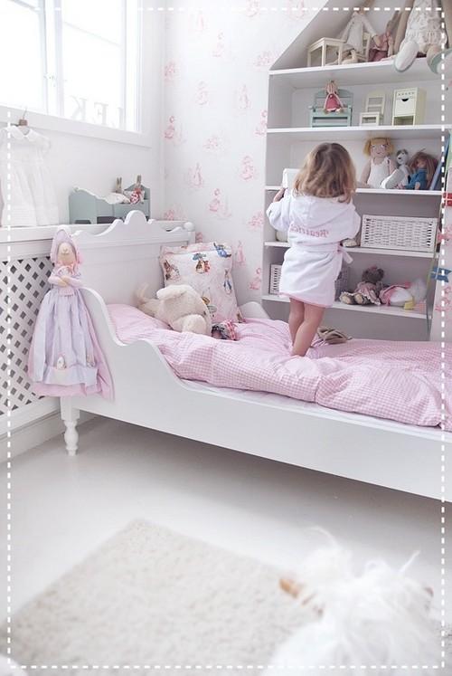 обои для спальни девочки