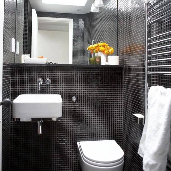 ванная комната черного цвета (17)