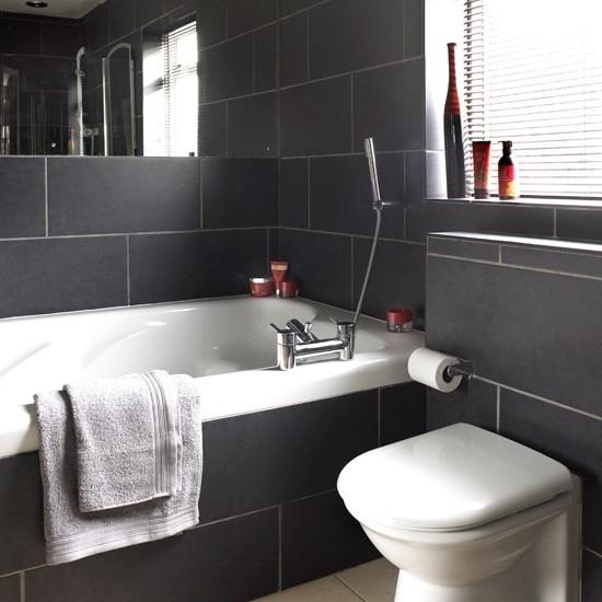 ванная комната черного цвета (14)