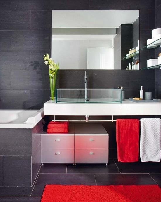 ванная комната черного цвета (13)