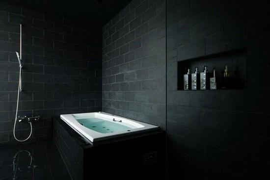 ванная комната черного цвета (11)