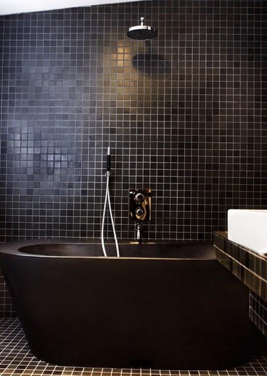 ванная комната черного цвета (10)