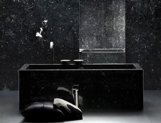 ванная комната черного цвета (9)