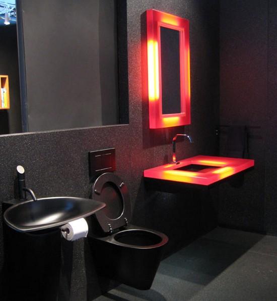 ванная комната черного цвета (7)