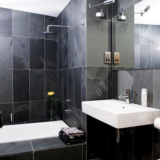ванная комната черного цвета (5)