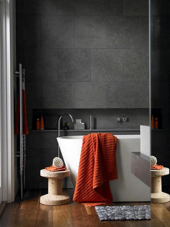 ванная комната черного цвета (4)