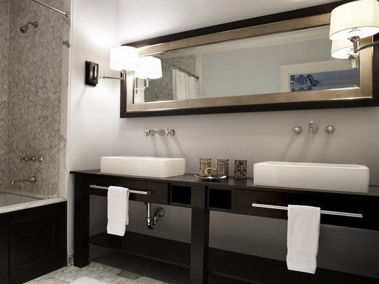 ванная комната черного цвета (1)