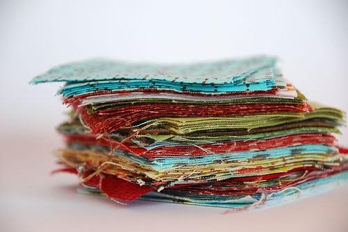 Оригинальные коврики из лоскутков своими руками
