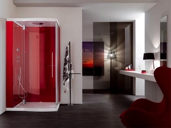 ванная комната красного цвета (3)
