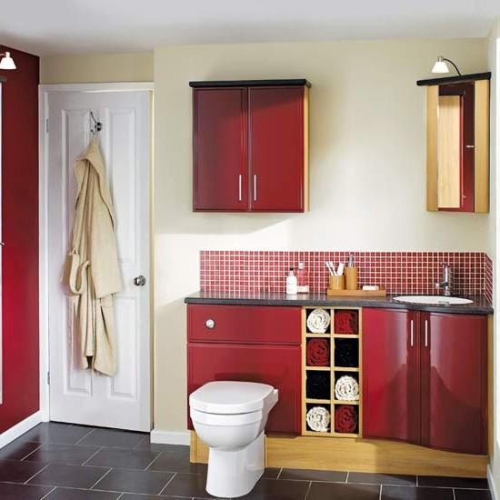 ванная комната красного цвета (1)