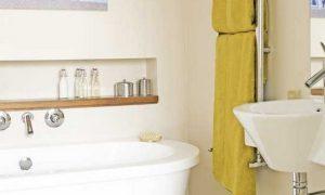 Маленькая ванная комната — дизайн интерьера