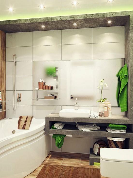 дизайн маленькой ванной комнаты (21)
