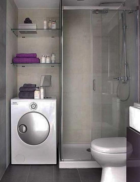 дизайн маленькой ванной комнаты (17)