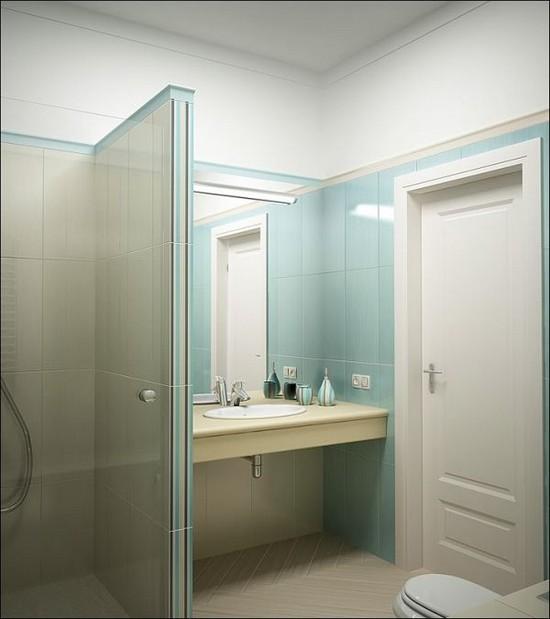 дизайн маленькой ванной комнаты (8)