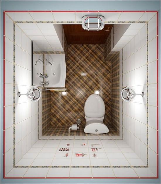 дизайн маленькой ванной комнаты (6)