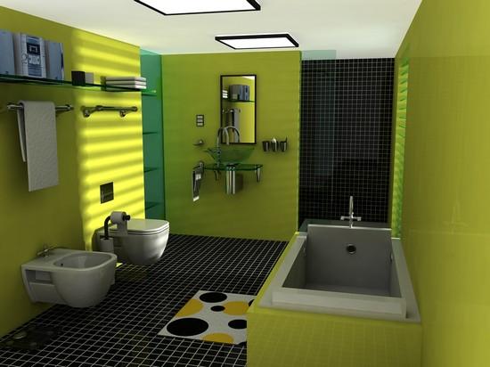 совмещання ванная комната с туалетом (8)