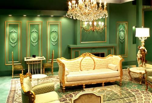 Викторианский стиль в интерьер