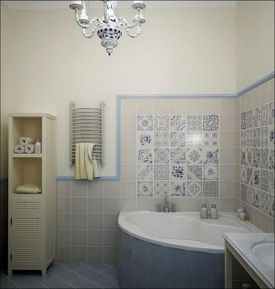 малогабаритная ванная комната 3 кв. м.