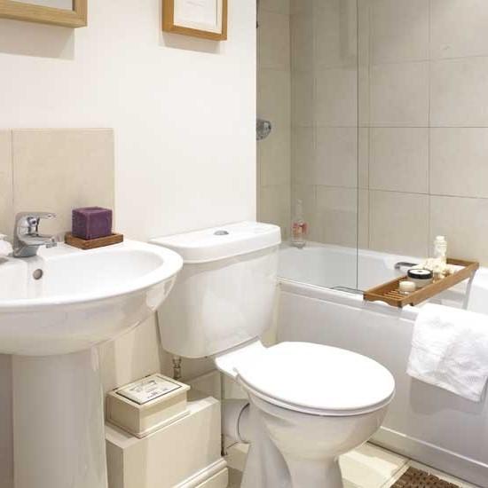малогабаритная ванная комната на фото