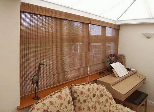 римские шторы на фото
