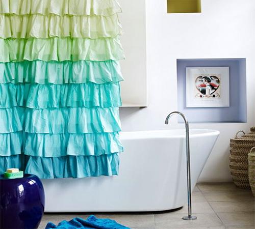 фото шторы для ванной комнаты