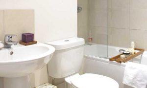 Дизайн ванной комнаты в квартире панельного дома