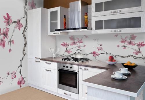 фотообои и кухня