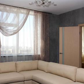 Как сделать красивые шторы для гостиной