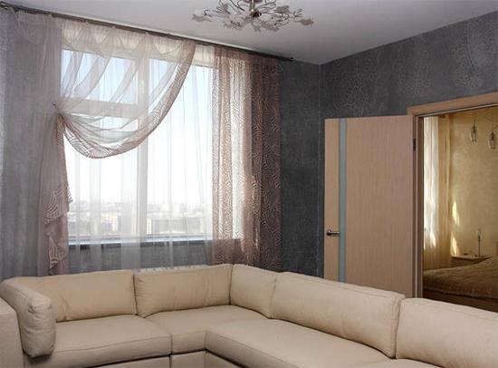 шторы в гостиную своими руками