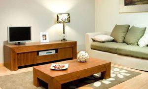 Интерьер маленькой гостиной в квартире