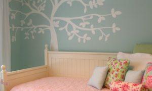 Самостоятельное декорирование стен в детской комнате