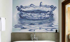 Самостоятельное декорирование стен ванной комнаты