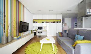 Интерьер однокомнатной квартиры хрущевки