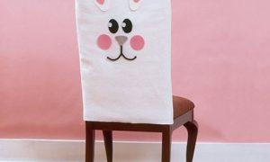Простой декор стула — съемные чехлы