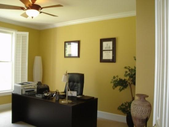 Какой выбрать цвет стен для офиса