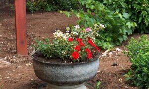 Декорируем сад старыми покрышками