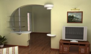 Перепланировка двухкомнатной квартиры хрущевки