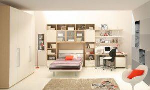 Варианты расстановки мебели в детской комнате
